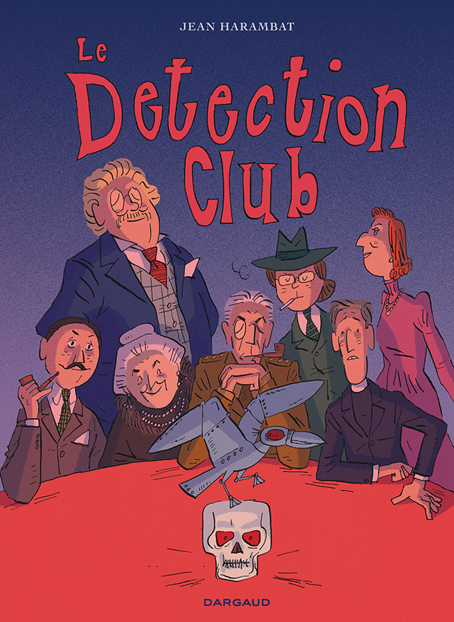 "Couverture de la BD ""Le Detection club"""
