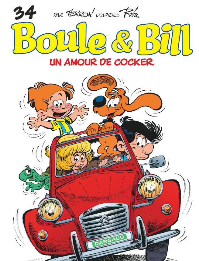 Lire Boule et Bill tome 34 : un amour de cocker