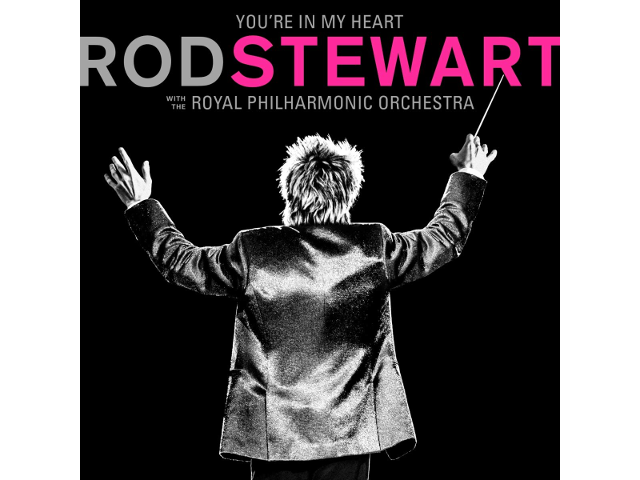 "Pochette de l'album ""You're in my heart: Rod Stewart (with The Royal Philharmonic Orchestra)"""